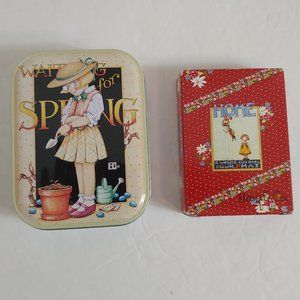 Mary Engelbreit Playing Cards & Metal Tin